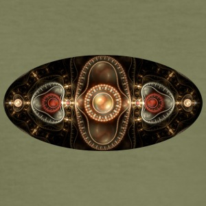 apophysis big oval - Men's Slim Fit T-Shirt