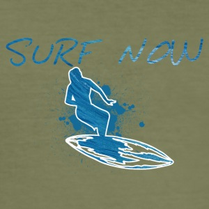 Surf now girl 01 01 - Men's Slim Fit T-Shirt