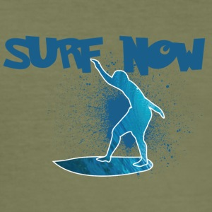 surf now 5 01 - Men's Slim Fit T-Shirt