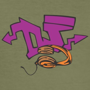 dj Graffiti - Männer Slim Fit T-Shirt