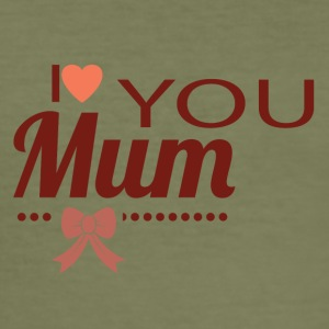 i love you mom - Men's Slim Fit T-Shirt