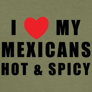 Mexican Hot & Spicy - Männer Slim Fit T-Shirt