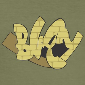 blay graffiti - Slim Fit T-shirt herr
