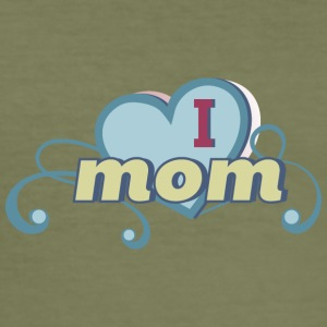 i love mom 2 - Men's Slim Fit T-Shirt