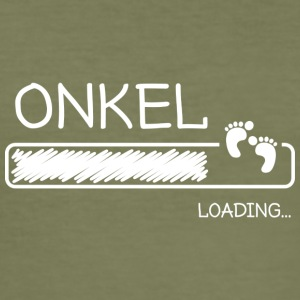onkel loading - Männer Slim Fit T-Shirt