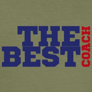 Coach / Trainer: The Best Coach - Männer Slim Fit T-Shirt