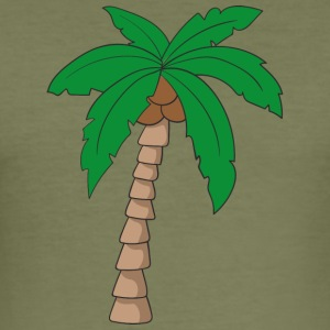 Palm tree - Men's Slim Fit T-Shirt