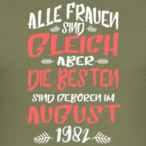 August 1982 - Männer Slim Fit T-Shirt