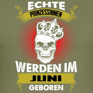 Prinzessinnen Juni - Männer Slim Fit T-Shirt