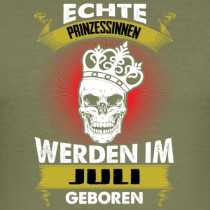 Prinzessinnen Juli - Männer Slim Fit T-Shirt