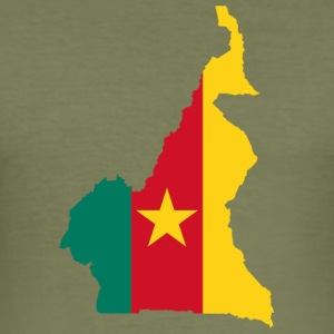 cameroon collection - Männer Slim Fit T-Shirt