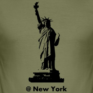 New York - Tee shirt près du corps Homme