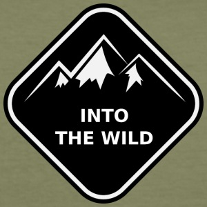 Into the Wild - Slim Fit T-shirt herr