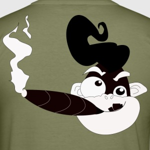 ELVIS Crazy Monkey - Slim Fit T-shirt herr