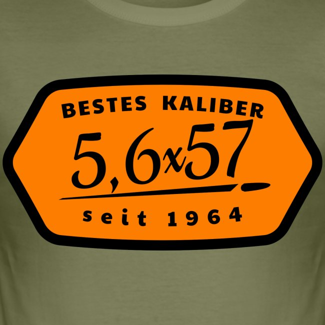 Kalibershirt 5,6x57 Jägershirt Vintage Style