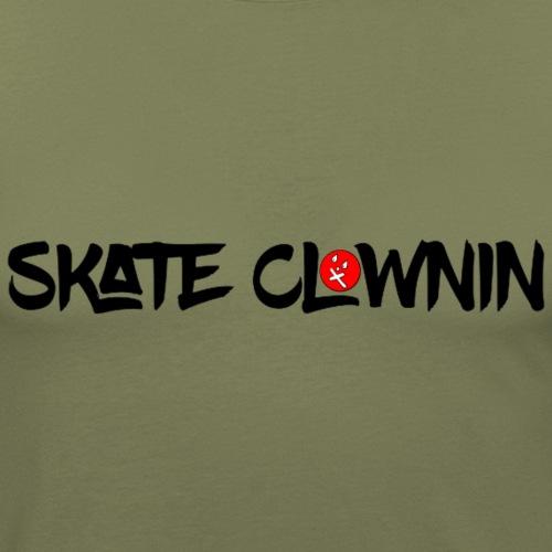 SCC LOgo big nobg gif - Men's Slim Fit T-Shirt