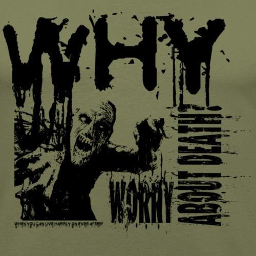 Zombie - Herre Slim Fit T-Shirt