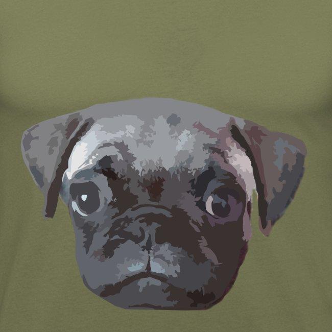 Ops A Mops Hund Männer Slim Fit T Shirt