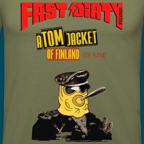 Atom of Finland - Vintage - Men's Slim Fit T-Shirt