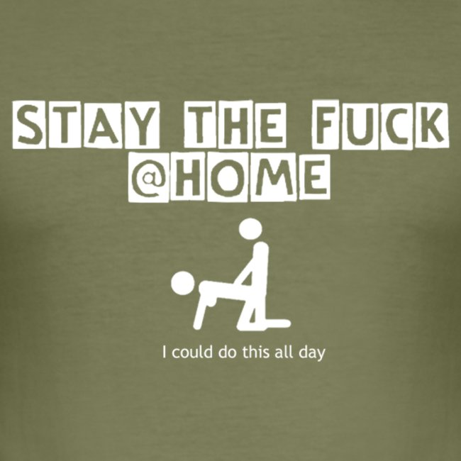 stay the fuck @home - logo