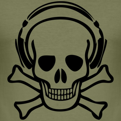 piracy - Herre Slim Fit T-Shirt