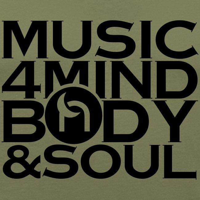 Music 4 Mind, Body & Soul Black