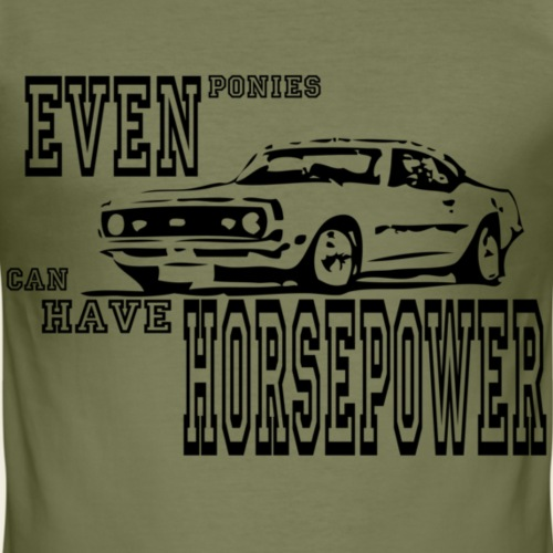 68 camaro - Herre Slim Fit T-Shirt