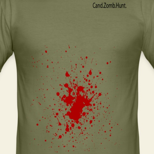 Bloody Zombie Hunter - Cand.Zomb.Hunt. - Herre Slim Fit T-Shirt