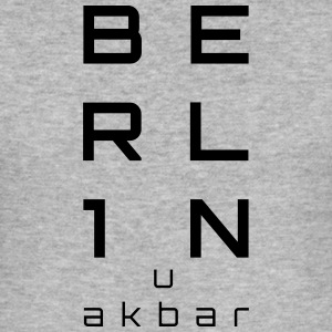 BERLIN u akbar - Männer Slim Fit T-Shirt