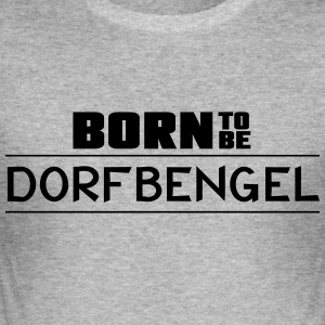 born_to_be - Herre Slim Fit T-Shirt