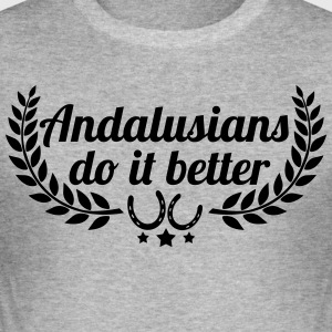Andalusians - Andalusian - Men's Slim Fit T-Shirt