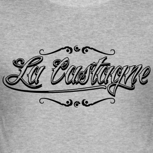 La Castagne - Slim Fit T-skjorte for menn