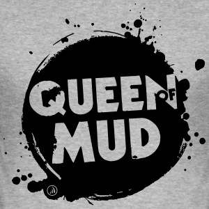 Queen of Mud - Slim Fit T-skjorte for menn