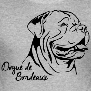 Dogue PORTRÆT DE BORDEAUX - Herre Slim Fit T-Shirt