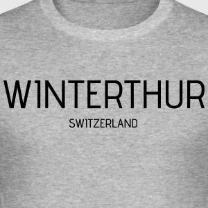 Winterthur - Herre Slim Fit T-Shirt