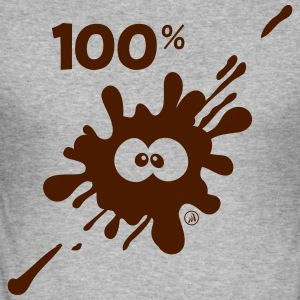 100% MUD - Men's Slim Fit T-Shirt