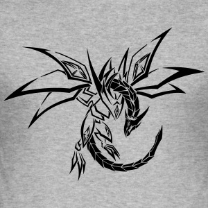 Dragon Tribal - slim fit T-shirt
