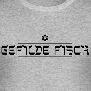 Yiddish for beginners: climes fish - Men's Slim Fit T-Shirt