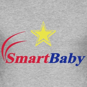 Smart-Baby-Entwurf - Männer Slim Fit T-Shirt