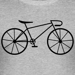 Bike - Men's Slim Fit T-Shirt