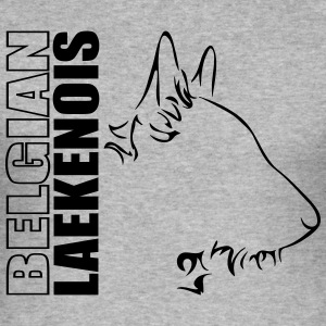 BELGIAN LAEKENOIS PROFILE - Men's Slim Fit T-Shirt