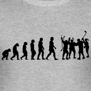 evolution hockey - Männer Slim Fit T-Shirt
