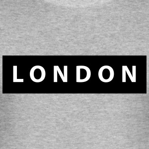 london_silhouette - Herre Slim Fit T-Shirt