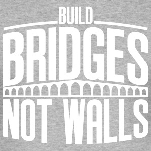 build bridges - Men's Slim Fit T-Shirt