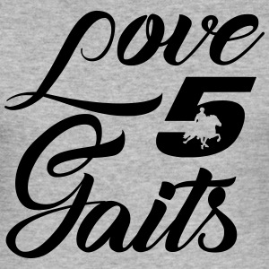 Love 5Gaits - Men's Slim Fit T-Shirt