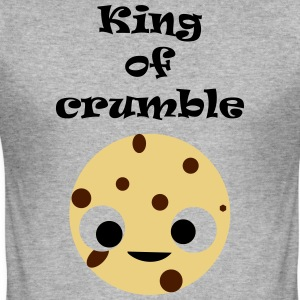 King of crumble for (wo) men - Men's Slim Fit T-Shirt