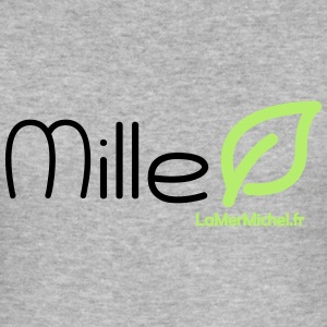 Mille LEAF - Männer Slim Fit T-Shirt