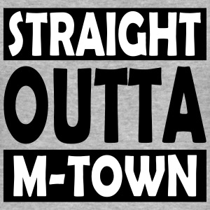 Straight Outta M-Town - Herre Slim Fit T-Shirt