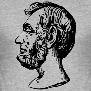 Abraham Lincoln - slim fit T-shirt