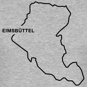 Eimsbüttel Border - Männer Slim Fit T-Shirt